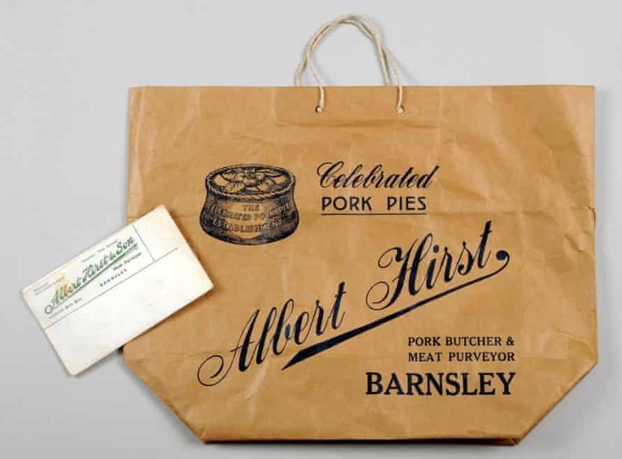 Lovely aroma … an Albert Hirst butcher bag.