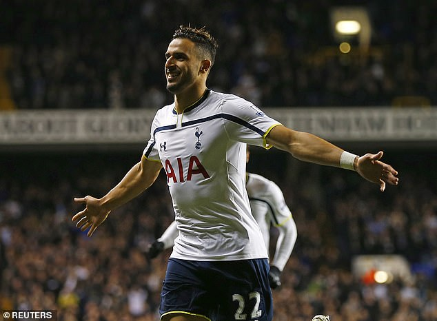 Nacer Chadli was a success during three seasons at Tottenham before moving to West Brom