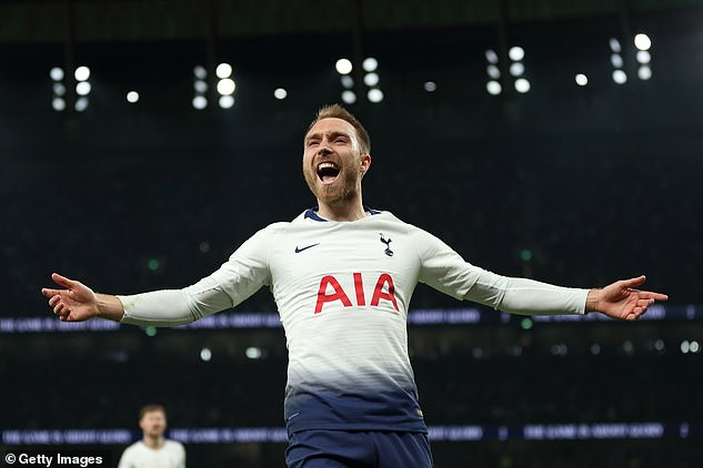 Christian Eriksen scored 69 goals and contributed 89 assists in his 305 matches for Spurs