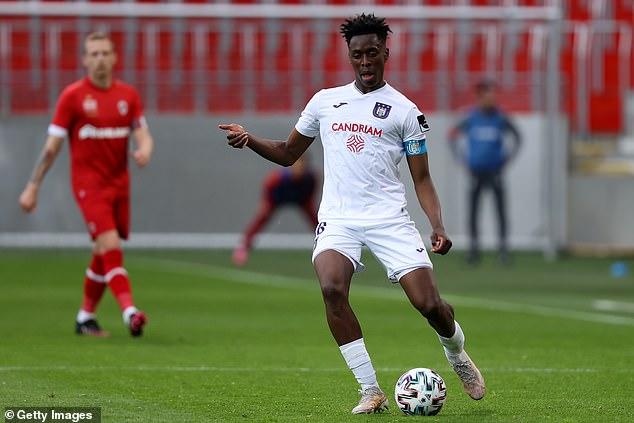 Lokonga skippered Anderlecht last season at the age of 21 in his fourth professional season