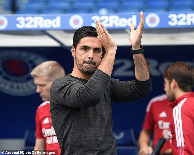 Arsenal boss Mikel Arteta hailed his new addition as 'very intelligent' with 'great maturity'