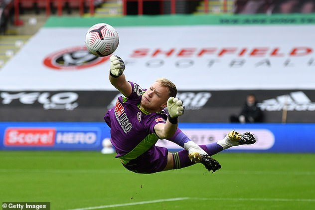 Arsenal are understood to be preparing a £30m offer to buy goalkeeper Aaron Ramsdale