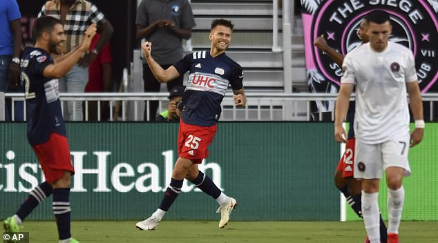New England Revolution are the best team in the league but it remained an embarrassing night