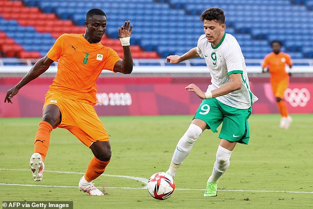 United defender Eric Bailly (left) helped the Ivory Coast make a winning start at the Olympics