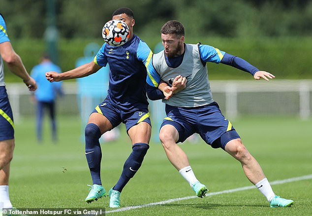 Matt Doherty (R) will be hoping to impress Espirito Santo after working with him at Wolves