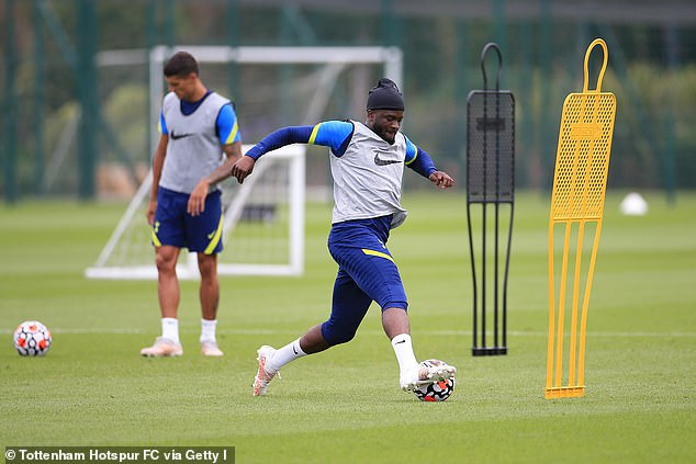 Tanguy Ndombele has steadily improved and has technical as well as defensive abilities