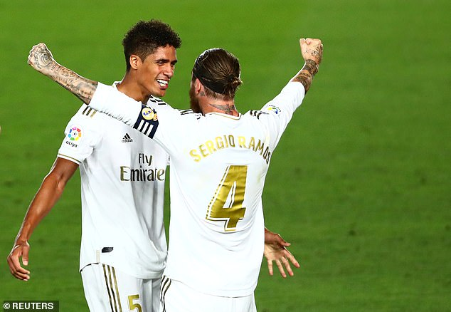 Varane and Sergio Ramos complemented each other well in the centre of Real's defence