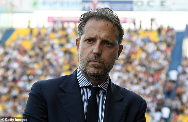 Spurs director of football Fabio Paratici was keen to rebuild a team involving the forward