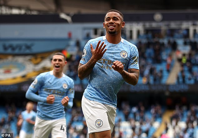 The Sun claims City and Brazil striker Gabriel Jesus could be Kane's replacement at Spurs