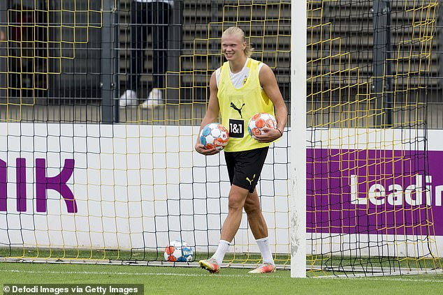 City had also been linked with a mega-money move for Borussia Dortmund star Erling Haaland