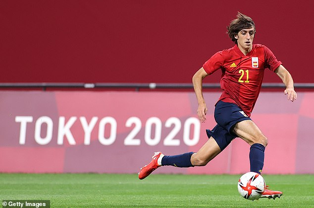 Gil will join up with the Tottenham squad after representing Spain at the Olympics
