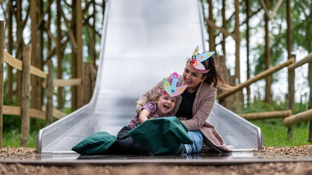 The Slippery Slopes are among BeWILDerwood's highlights