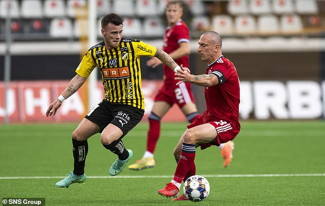 Aberdeen are through to the third qualifying round of the Europa Conference League despite slipping to a 2-0 defeat in their second leg with Hacken