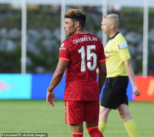 Alex Oxlade-Chamberlain caught the eye playing false nine in Liverpool's pre-season opener