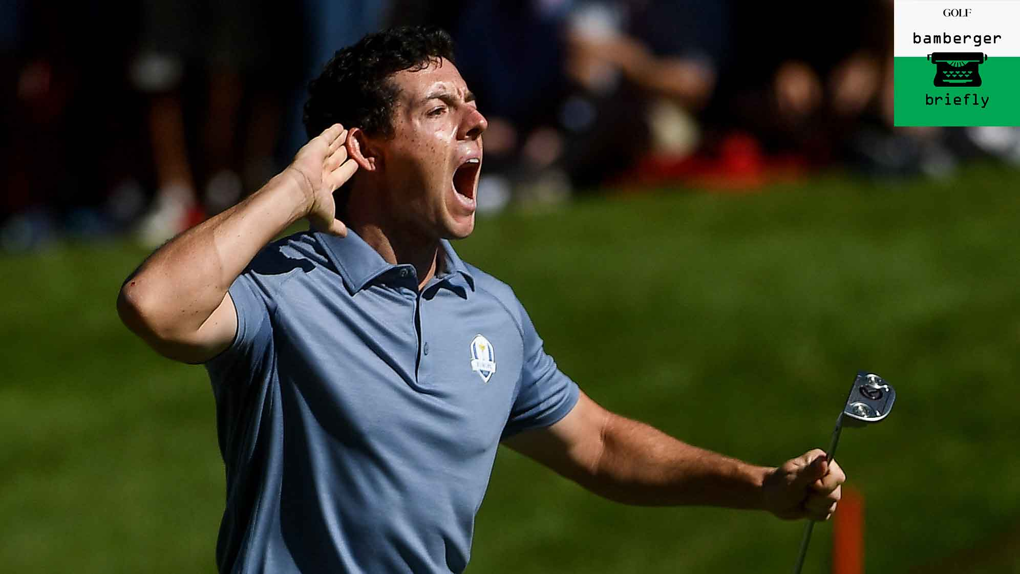 rory mcilroy at ryder cup