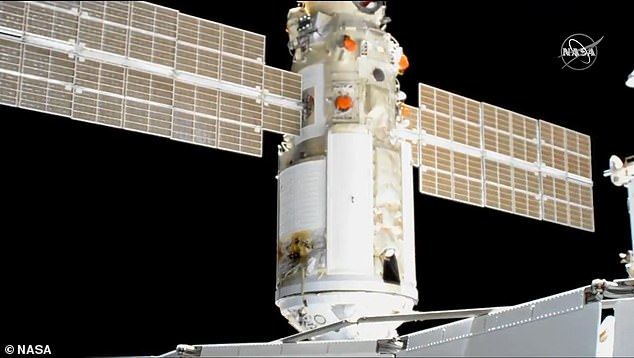 The International Space Station (ISS) received a new module Thursday when Russia docked its 22-ton Nauka Multipurpose Laboratory Module at 9:29am ET – the first time in a decade that a new part has been sent to the space ship
