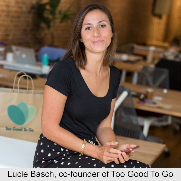 Lucie Basch, co-founder of Too Good To Go