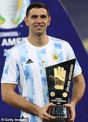 Emiliano Martinez left Arsenal last summer and has since gone on to thrive, winning the Copa America with Argentina