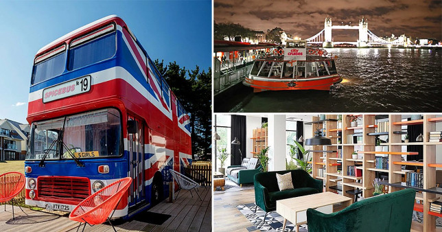 Quirky UK staycation experiences including a night on the original Spicebus