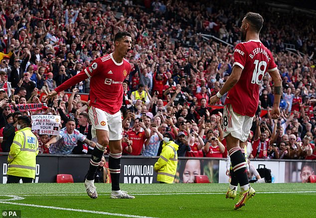 Old Trafford was bouncing on Saturday as Ronaldo sent fans into raptures by scoring twice