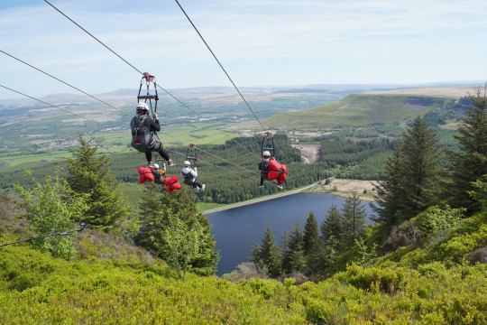 Zip World Tower, Wales