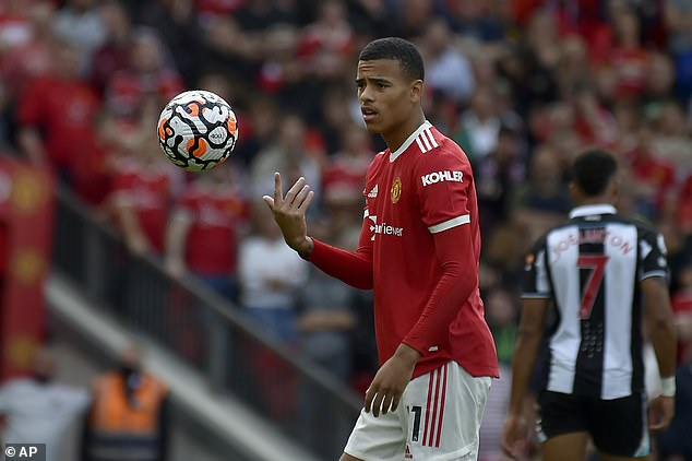 Ole Gunnar Solskjaer will hope Ronaldo can act as a mentor for teenager Mason Greenwood