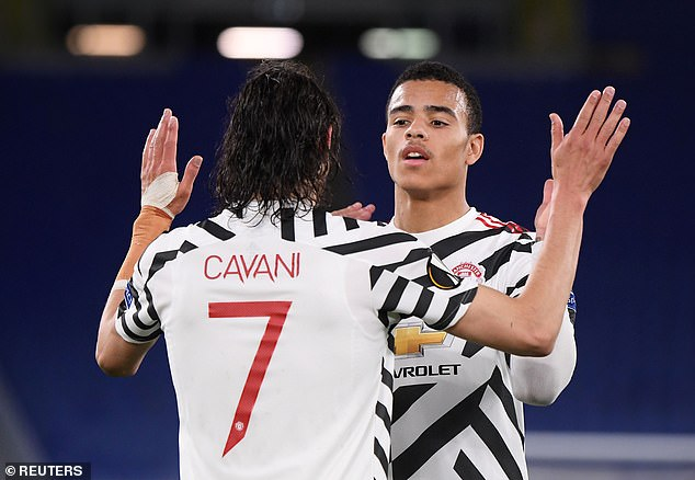 19-year-old Greenwood already has the Uruguayan striker Edinson Cavani to learn from