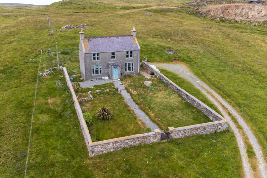 STUNNING REMOTE PROPERTY FOR SALE IN SHETLAND CREATES SOCIAL MEDIA STORM OVER RESEMBLANCE TO ICONIC HOME FROM HIT COMEDY FATHER TED **Permission given from copyright holder to Magnus News to distribute images** Pic from Anderson Strathern/Magnus News. Pic shows Ferncliff on the island of Yell, in the Shetland Islands, Scotland. The sale of the house has created a social media storm after some users claimed in looked like the Parochial House from the hit 90s comedy series Father Ted. Offers over ??95,000 are expected for the dwelling with the sale ending at noon on Monday September 13. pictures@magnusnewsagency.com +44(0)1215371514 for FULL COPY email newsdesk@magnusnewsagency.com, or see your NEWSDESK. Standard fees apply for online and print use. Permission given to cross-post to social media or app platform.