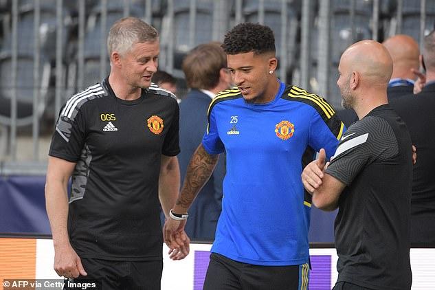Ole Gunnar Solskjaer's (left) Man United start their Champions League bid in Switzerland
