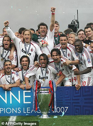 But the Italians got revenge when they met in the 2007 final
