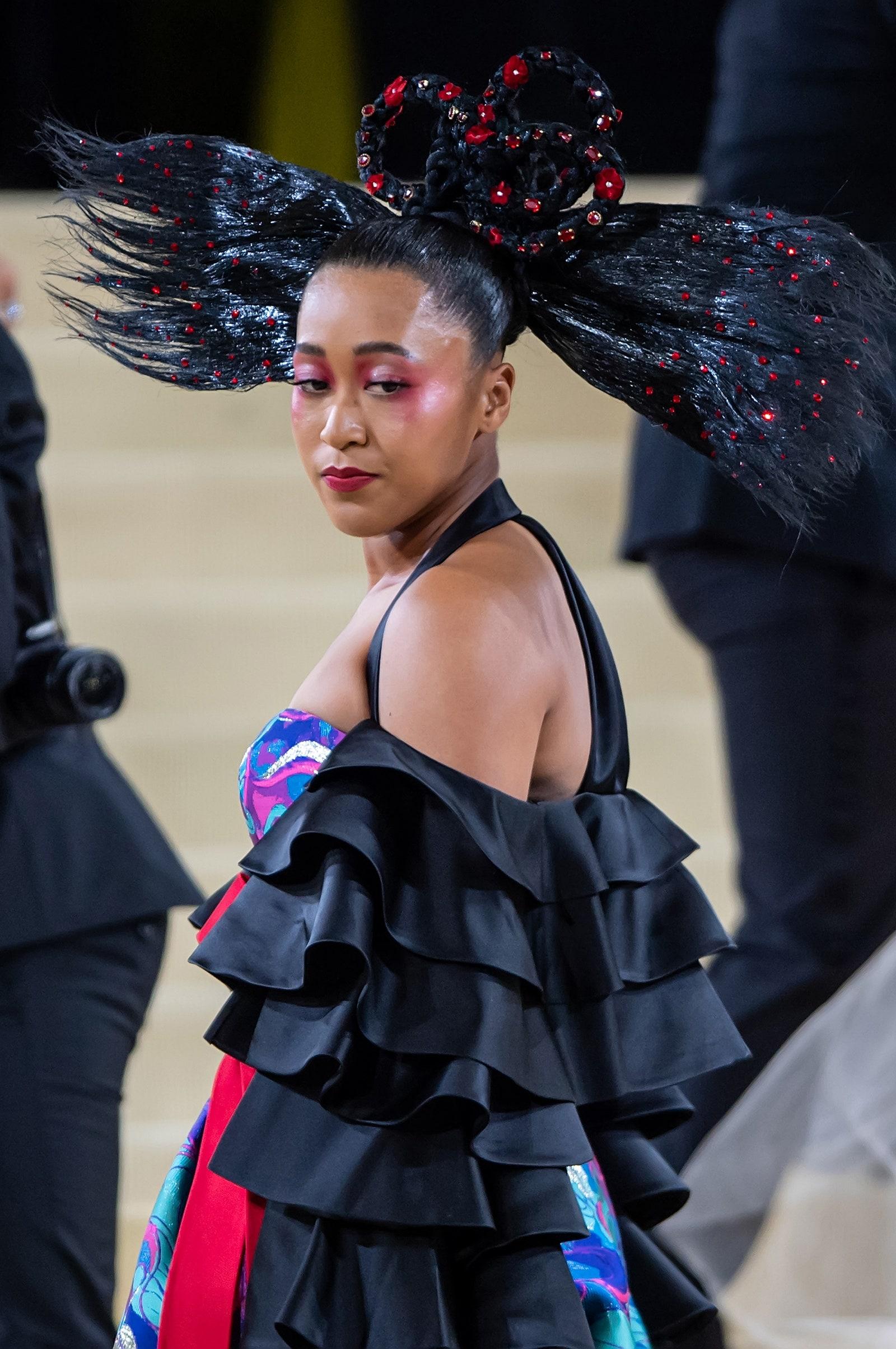 Naomi Osaka at the MET gala.