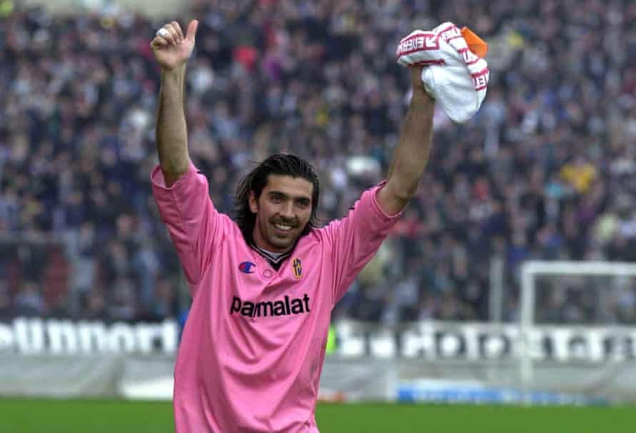 Gigi Buffon, back when he was Parma's No 1 for the first time.