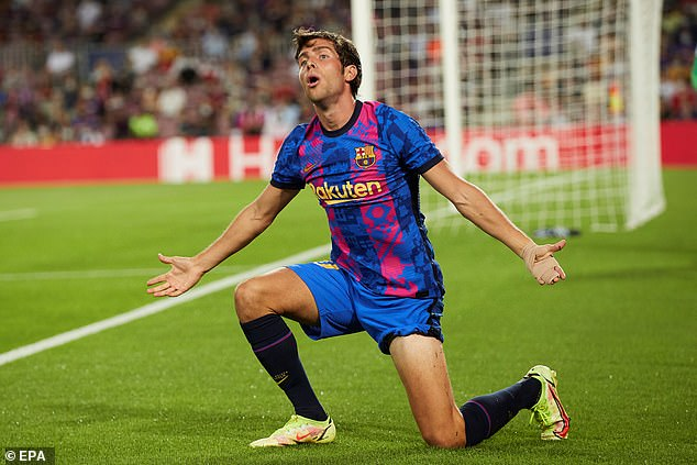 Sergi Roberto had been jeered by sections of the home crowd, leaving Pique feeling 'hurt a lot'