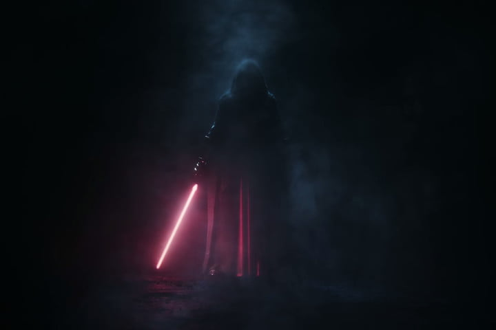 A Sith Lord in the trailer for the Star Wars: Knights of the Old Republic Remake.
