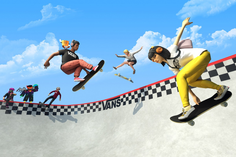 Vans World is a skating place inside Roblox.
