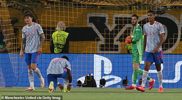 The Red Devils suffered their first loss of the season on Tuesday - a 2-1 defeat at Young Boys