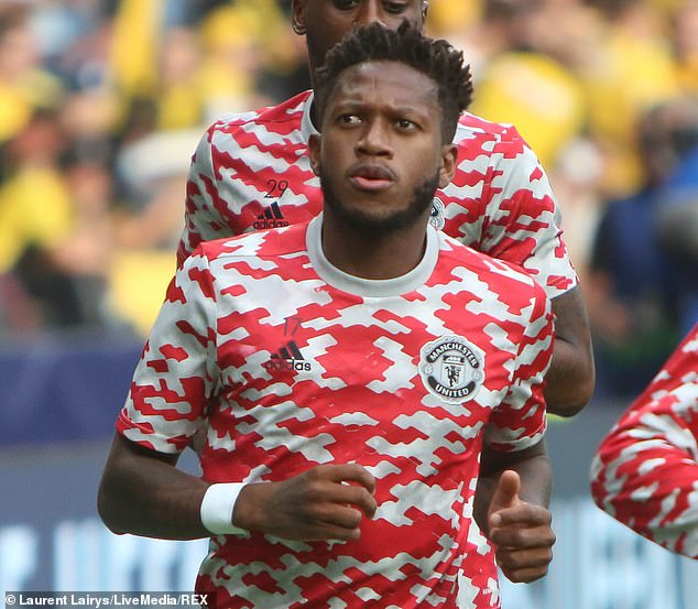 Fred is another midfielder who is favoured over the Dutchman at Old Trafford