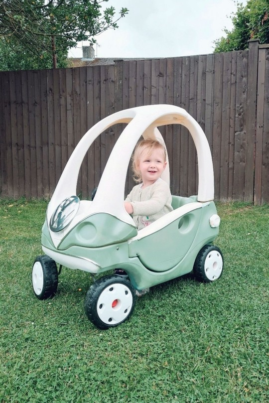 Vicki's youngest daughter, Wynne, now gets full use of the same car her older brother was gifted 10 years ago