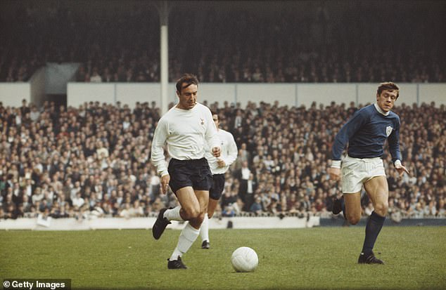 The Spurs legend (left) was known as one of the greatest goalscorers in English football history