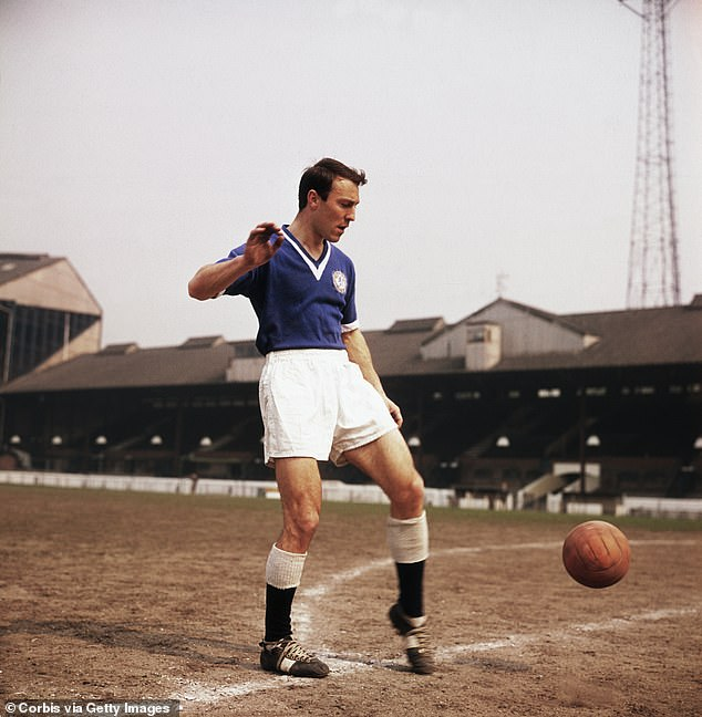 Greaves began his playing career at Chelsea and became a goalscoring sensation in England