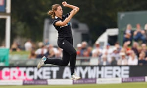 New Zealand's Molly Penfold in action.
