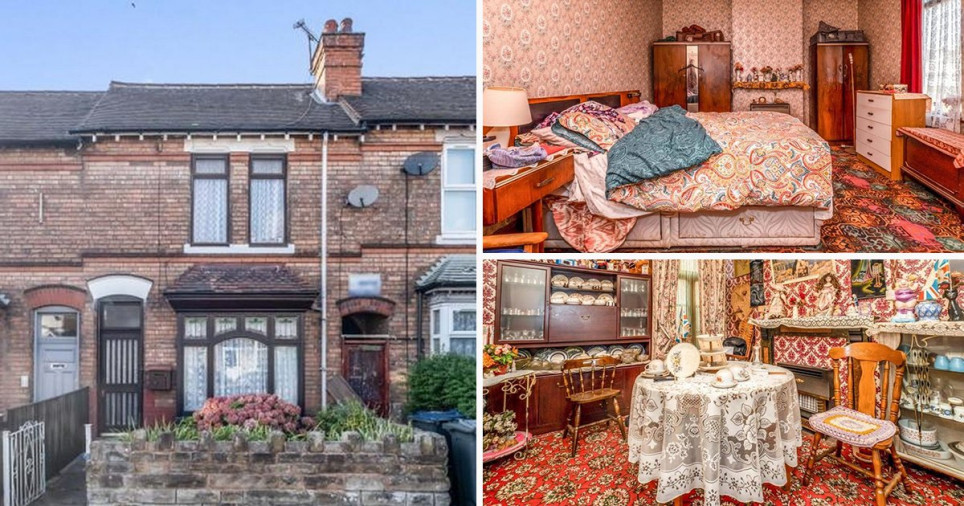Inside 1970s Erdington time warp house complete with headache-inducing wallpaper - on the market for ?170k BPM Media