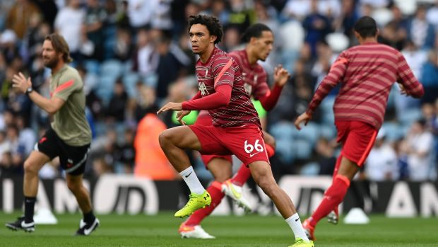Trent Alexander-Arnold has been excellent at right back for Liverpool in recent seasons. Photograph: Shaun Botterill/Getty Images
