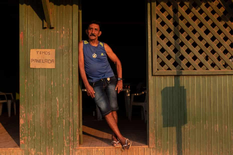 Fernando Viana, 75, the former sheriff of Jardim do Ouro, has seen his once rowdy hometown fall strangely quiet as a result of the environmental crackdown.