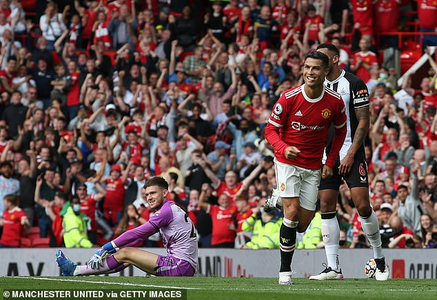 Cristiano Ronaldo shone on his second debut for Manchester United, scoring two goals
