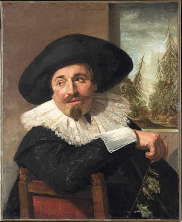 Hals's portrait of his friend Isaac Massa, 1626.