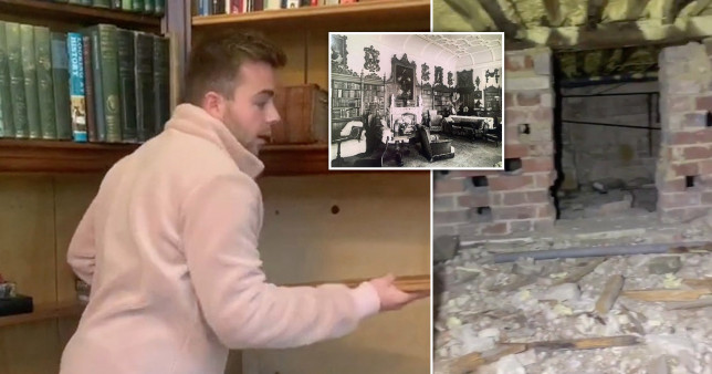 Man finds dozens of tunnels in house