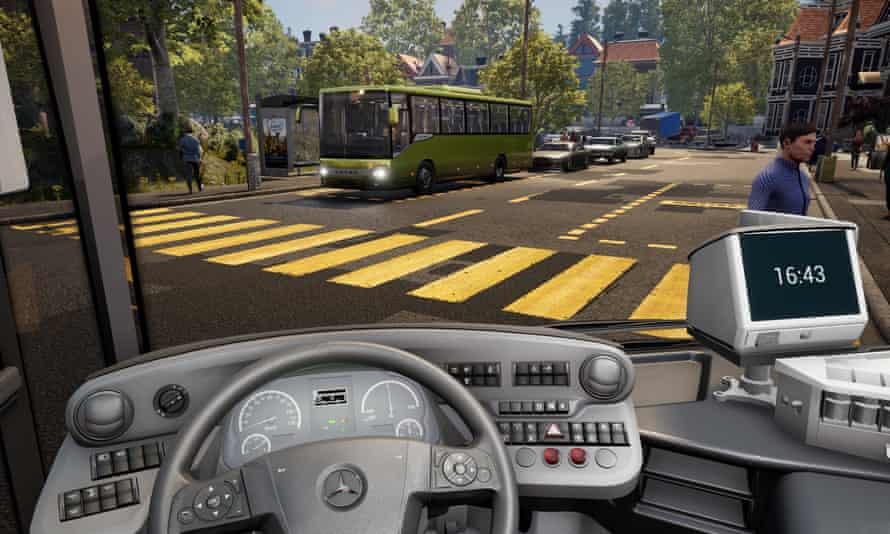 A sort of recurring fever dream … Bus Simulator 21.