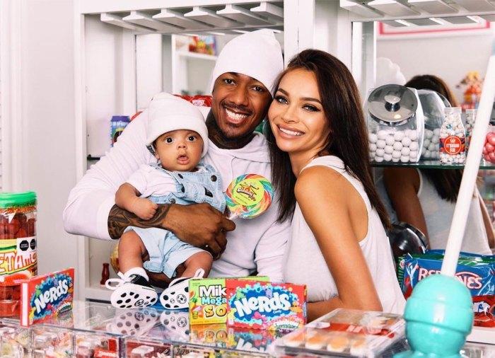 Nick Cannon Takes Adorable Family Photos With Alyssa Scott and Son Zen
