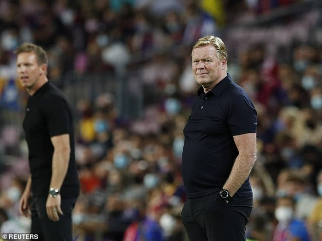 Ronald Koeman lamented Barcelona's threadbare after they were beaten by Bayern Munich